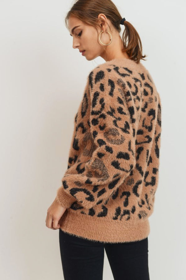 Call Me Leopard Sweater