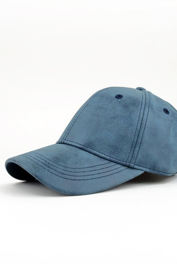 Blue Washed Baseball Hat