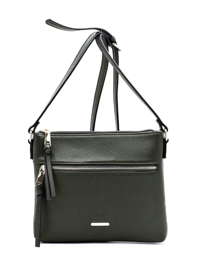 The Explorer Green Crossbody Bag