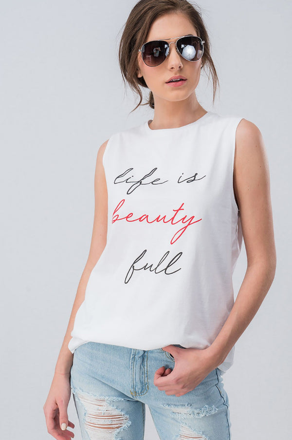 Life is Beauty Tank