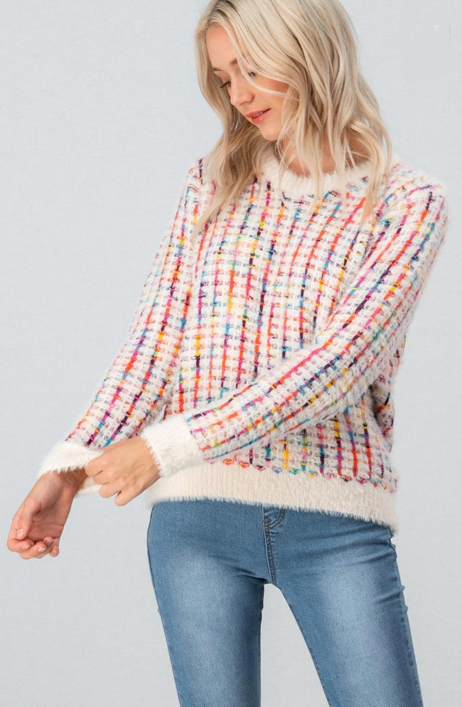 Colors of the Rainbow Sweater