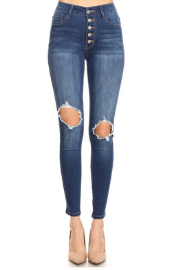 Piper High Rise Skinny Jeans