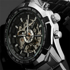 WINNER Classic Automatic Full Steel Mechanical Watch