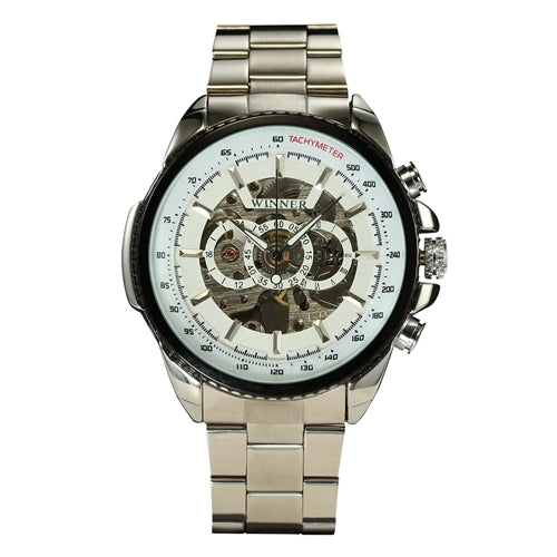 Winner Lavish Military Waterproof Mechanical Watch