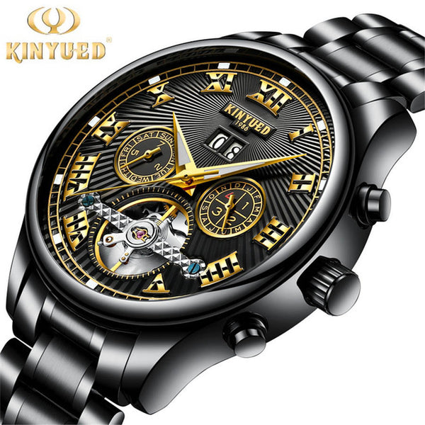 Waterproof and Stainless Steel Mechanical Watch