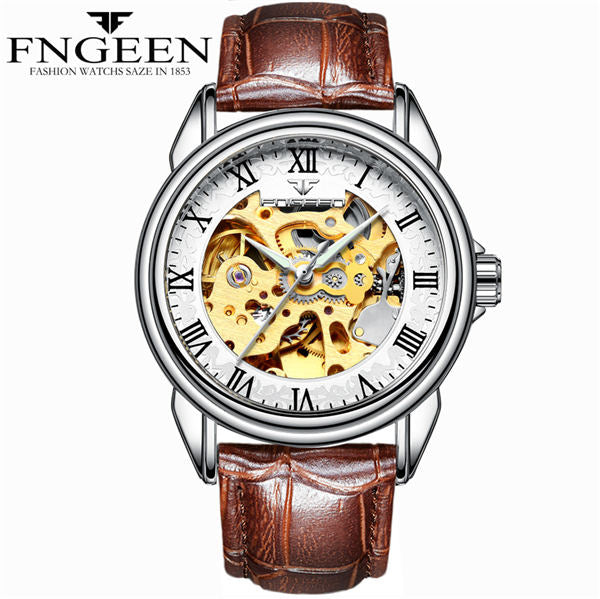 FNGEEN Waterproof Stunning Mechanical Watch