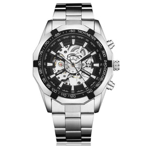 Automatic Skeleton Dial  with Stainless Steel Band