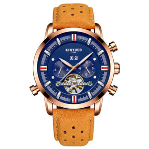 KINYUED Casual Automatic Mechanical Watch