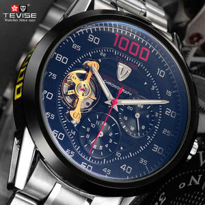 Tevise Luxury Waterproof Mechanical Watch