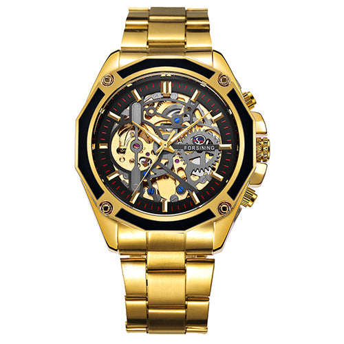 FORSINING 3D Design Business Men Automatic Mechanical Watch