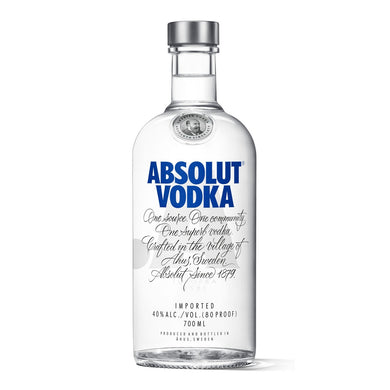 Absolut Vodka (70cl) - speedyOrders