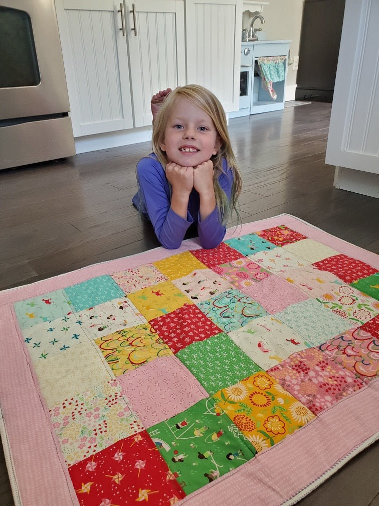 Beginner Quilting for Girls