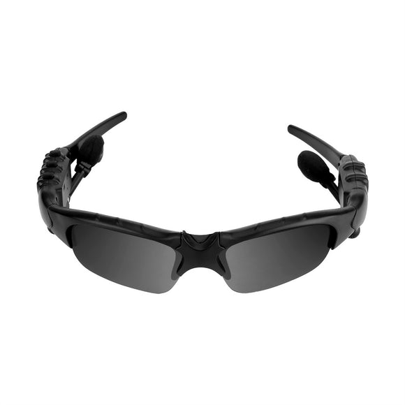 Wireless Stereo Bluetooth Sunglasses with A Pair Of Blue and Yellow Lens