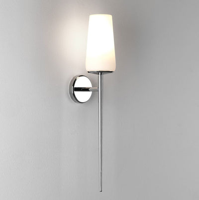 Beauville Polished Chrome Wall Light