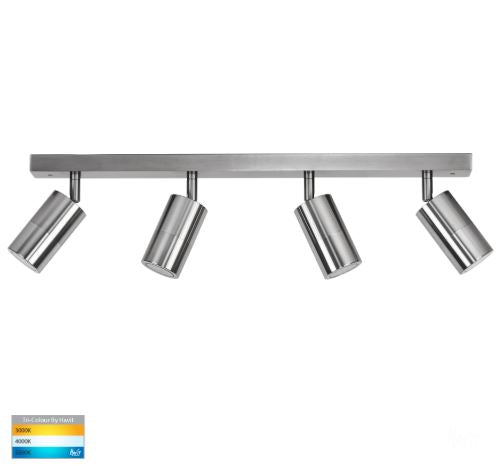 Tivah Titanium 4 Light TRI Colour LED Bar Lights