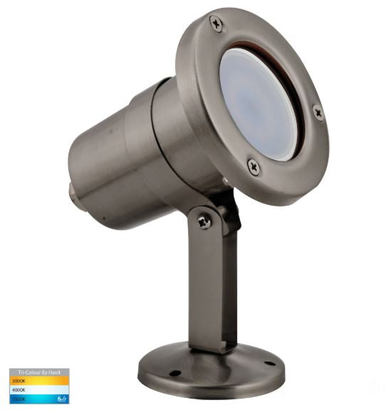 Stahl 316 Stainless Steel TRI Colour LED Garden Light
