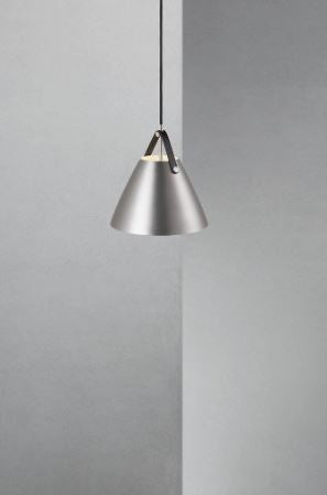 Strap 27 Brushed Steel Pendant