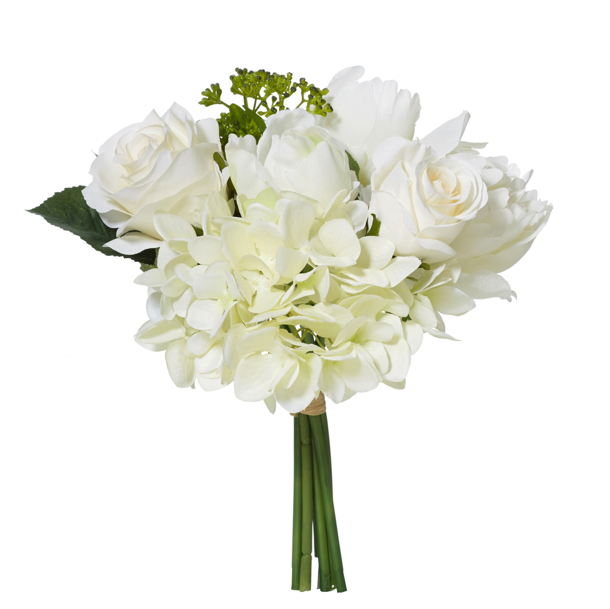 Rose Peony White Bouquet