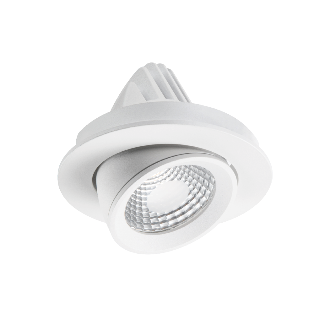 Apex Adjustable UV Textured White 2700K Downlight