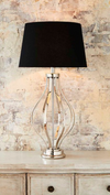 Anton Nickel Table Lamp