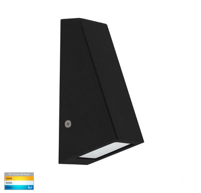 Taper Black TRI Colour 5W LED Wedge Wall Light