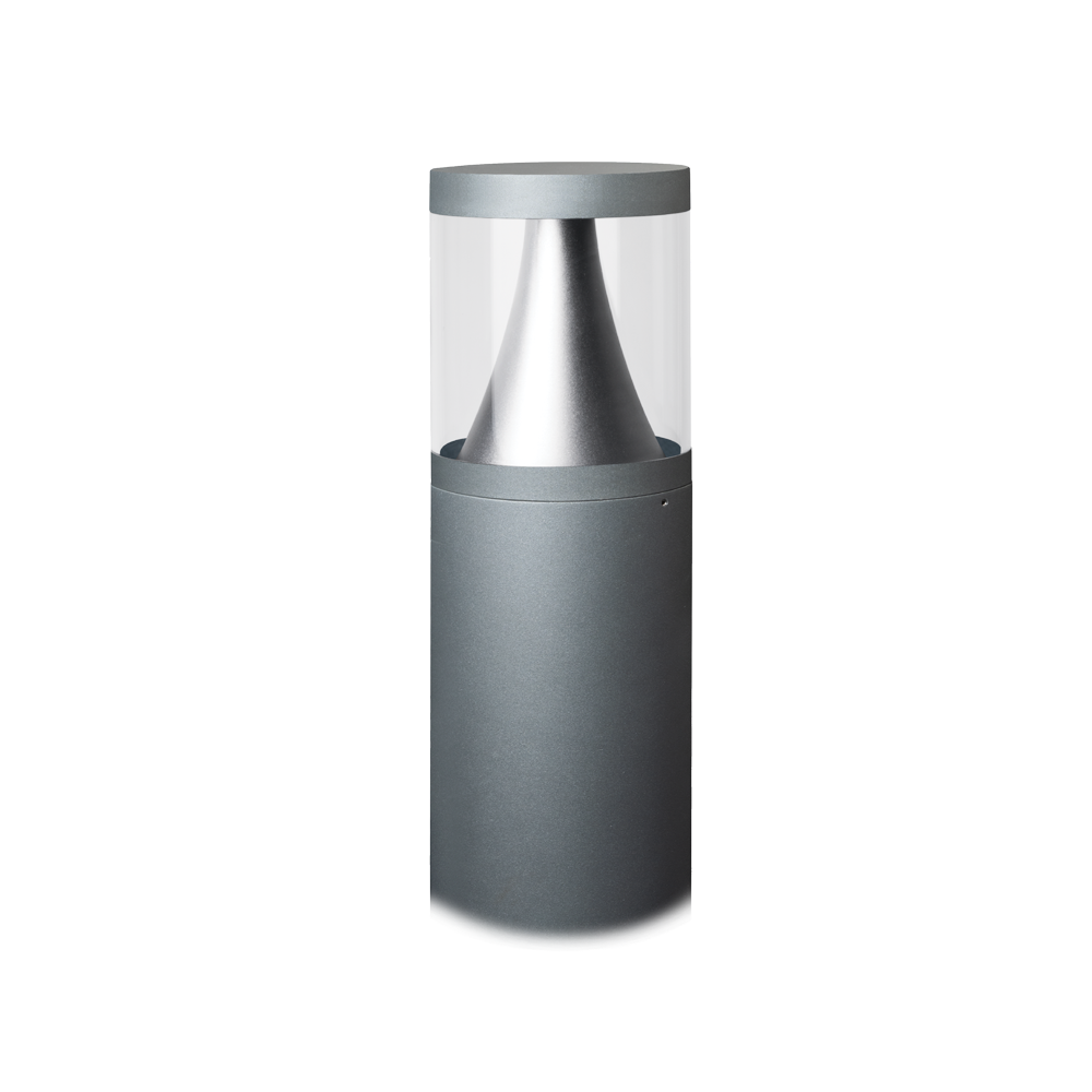 Castell 900mm Grey Bollard Light