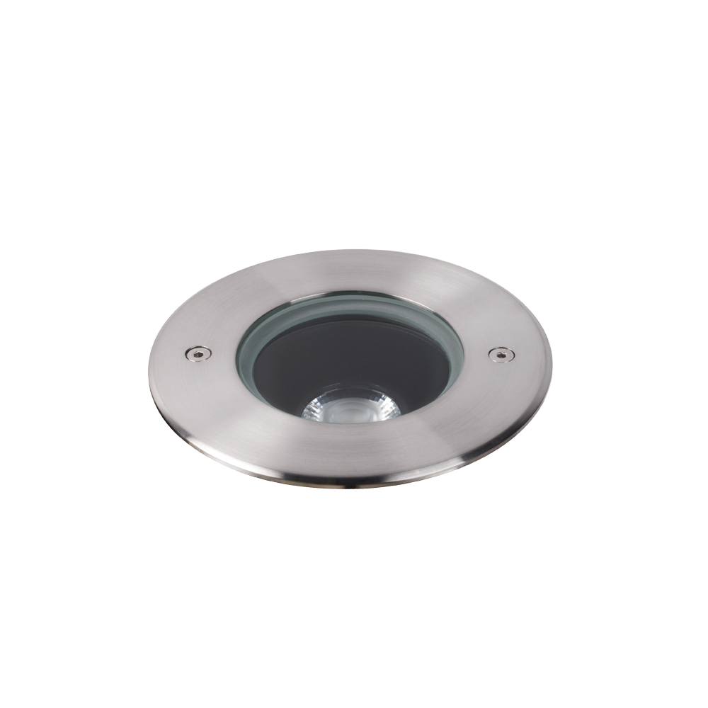 Compass 11W Stainless Steel 4000K Adjustable Inground Uplight
