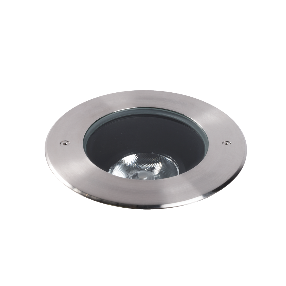 Compass 15W Stainless Steel 4000K Adjustable Inground Uplight