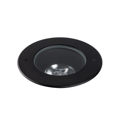 Compass 15W Black Adjustable 4000K Inground Uplight