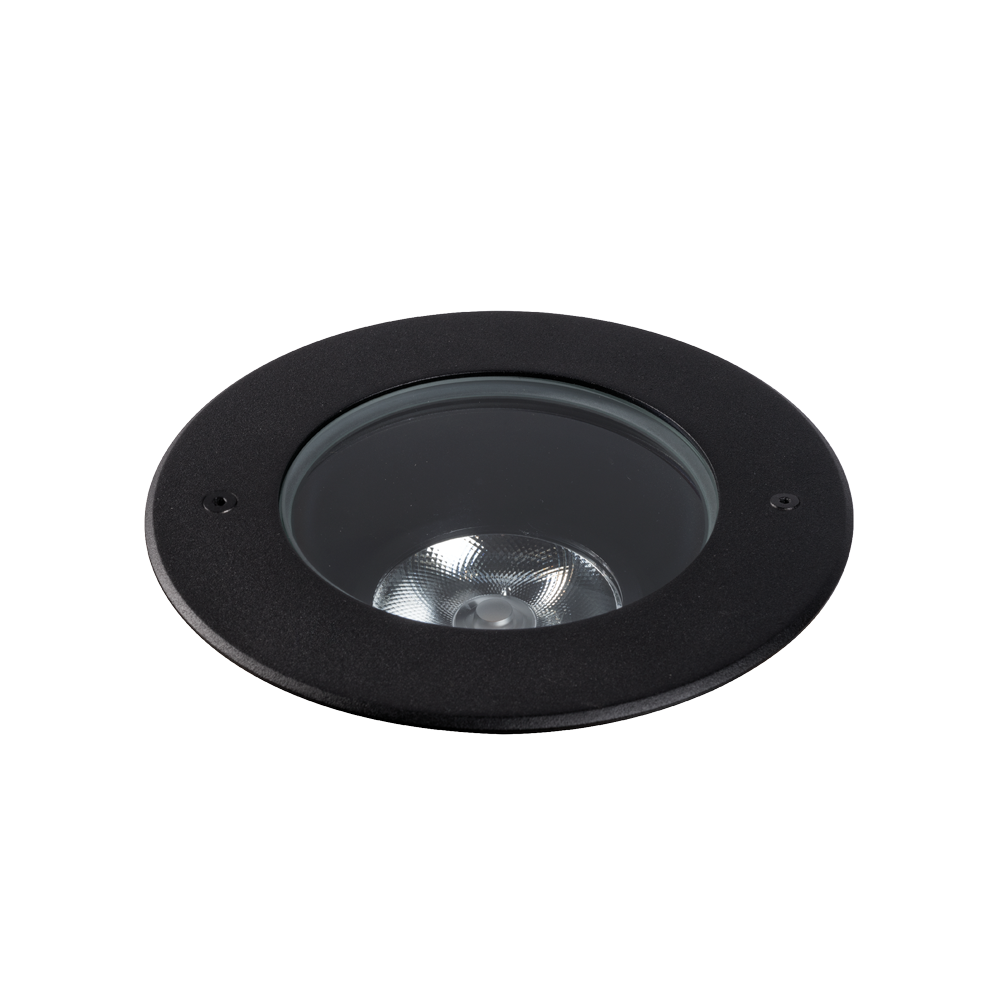 Compass 11W Black 4000K Adjustable Inground Uplight