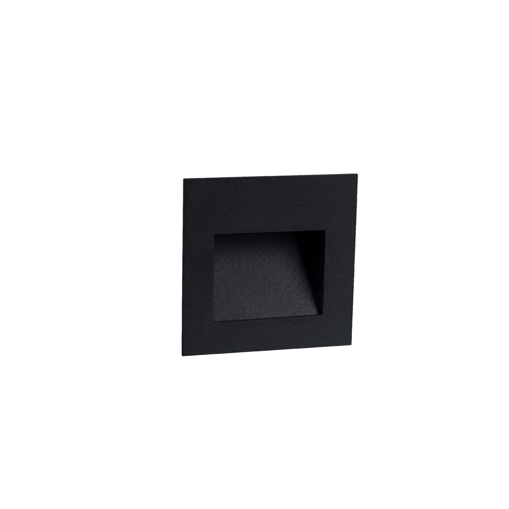 Cuadro 2W Black Wall Light