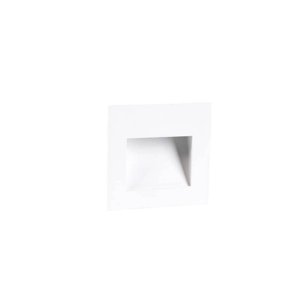 Cuadro 2W White Wall Light