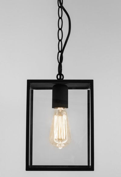 Homefield Small Textured Black Pendant
