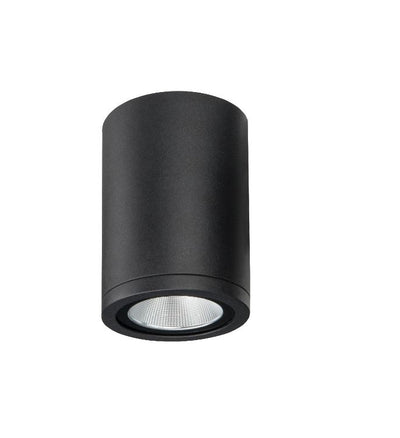 Athena Black Exterior Surface Mounted Ceiling Light
