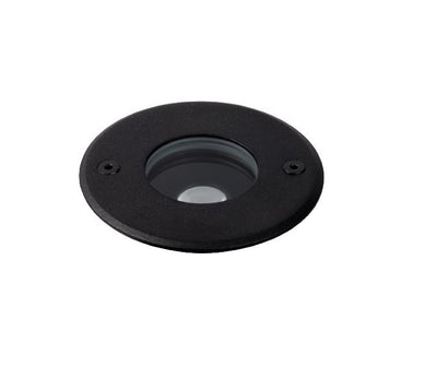 Compass 6W Black 3000K Adjustable Inground Uplight