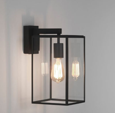 Box Lantern Large Wall Light