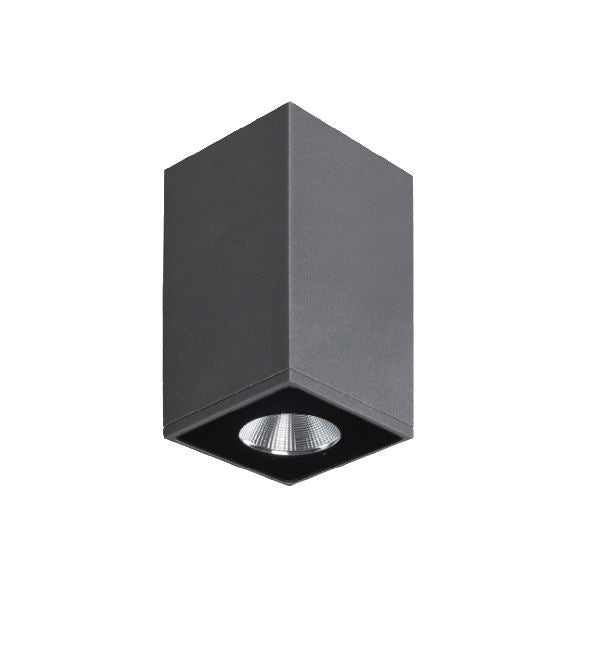 Zeron Mini Grey Exterior Surface Mount Down Light