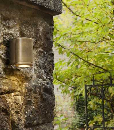Jura Coastal Brass Single Wall Light
