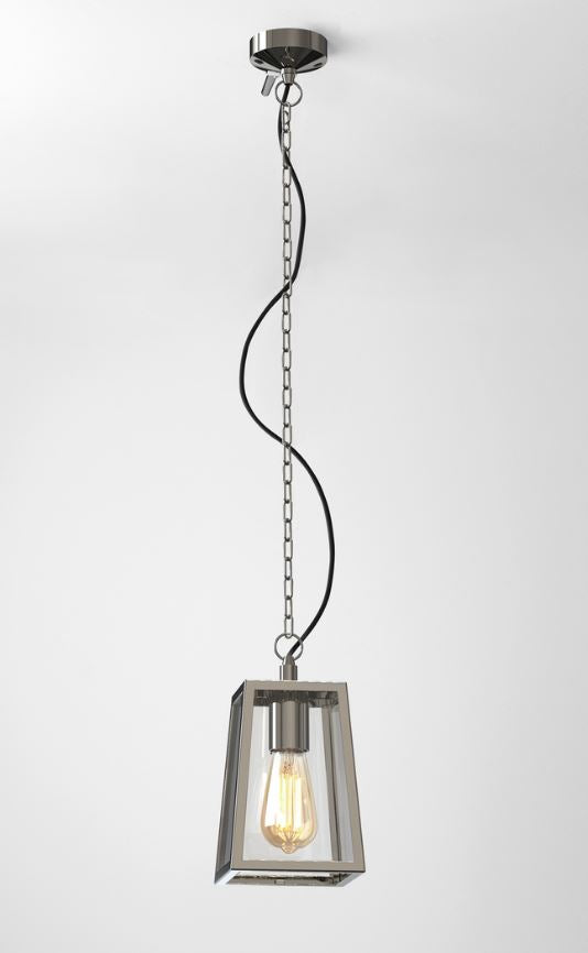 Calvi Polished Nickel Outdoor Pendant