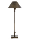 Clarice Antique Brass Table Lamp