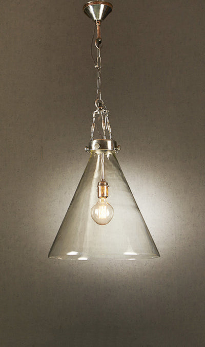 Cohen Large Glass Hanging Lamp