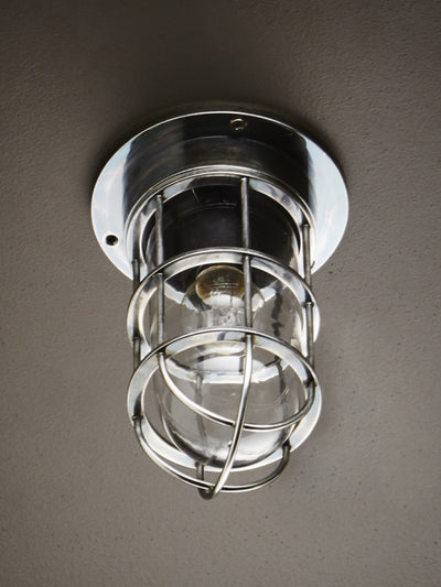 Cutler Ceiling Lamp in Antique Silver