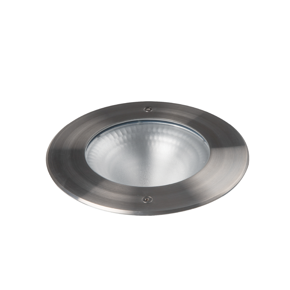 Emerald Round 316 Stainless Steel Commercial Inground Uplight