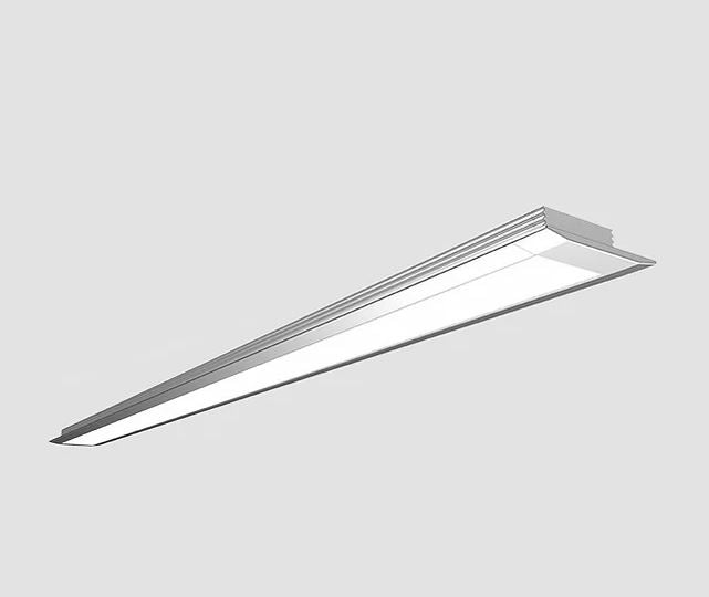 Flush Shallow 25x7mm LED Profile