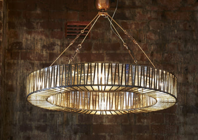 Harper Glass Hanging Lamp