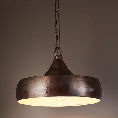 Kings Lane Hanging Lamp in Dark Brass