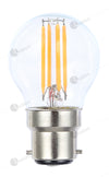 Fancy Round 12V 4w 2700k LED Filament Full Glass Lamp