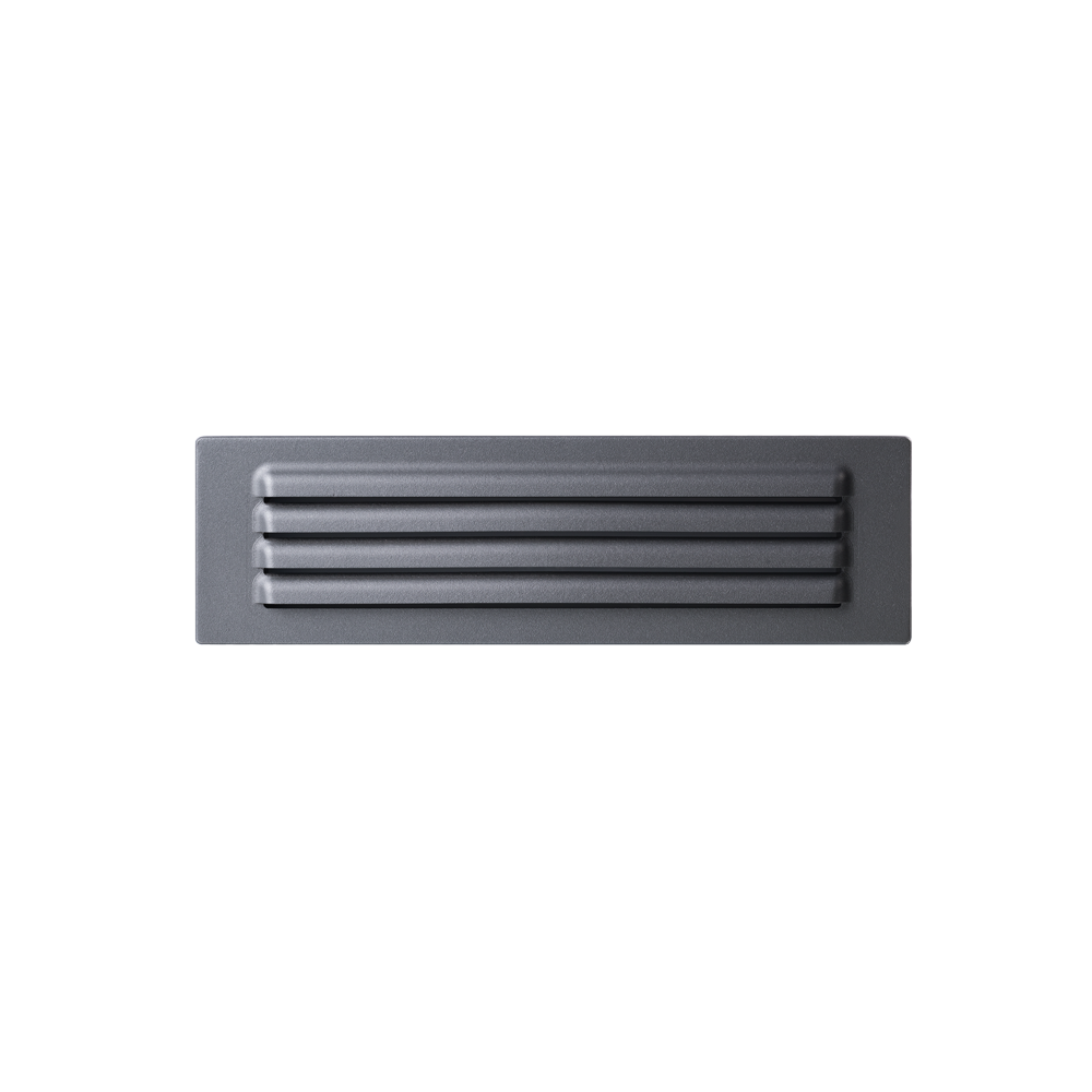 Link Grey Grill Face Wall Light