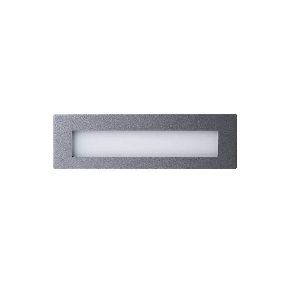 Link Grey Open Face Wall Light