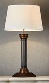 Mackenzie Bronze Pillar Table Lamp